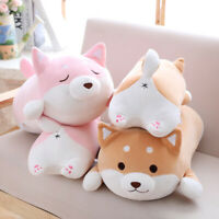 Adorable Fat Shiba Inu Dog Plush Toy Stuffed Soft Kawaii Animal Cartoon Pillow
