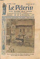 Médaillon Jeanne d'Arc Poilus Maison Carrière de l'Oise WWI 1917 ILLUSTRATION