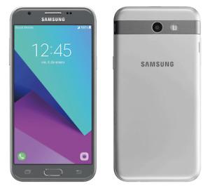 Samsung Galaxy J3 Emerge 16GB Silver 4G Prepaid Carrier Locked Virgin Mobile