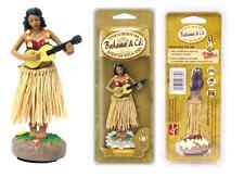 Car Dashboard Dancing Hawaiian Moving Hula Girl Pina Colada Air Freshener