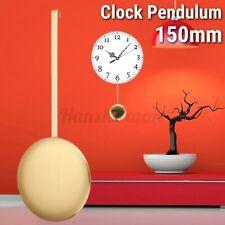 Quartz Clock Swing Pendulum Movement Replacement Golden Plastic 150x60mm