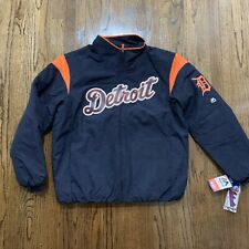 Majestic Detroit Tigers MLB On Field Therma Base Jacket, Size Large NWT $150