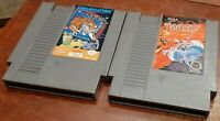 Nintendo NES Videomation & Joust loose carts, cleaned & tested, authentic