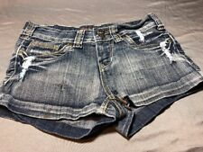 Free Culture Shorts Distressed 5 Euc Thick Stitching Pockets Shorty