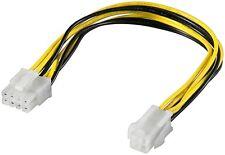 Mainboard Strom Adapter ATX 1.3 4 PIN Molex Stecker auf 8 Pin EPS Buchse ATX 2.0
