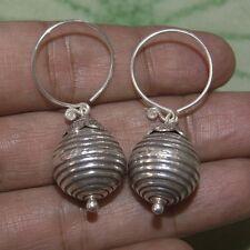 Beautiful Thai Design Earring Pure Silver Thai Karen hilltribe