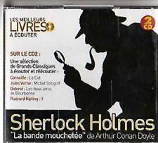 1335 // SHERLOCK HOLMES LA BANDE MOUCHETEE 2 CD DES LIVRES A ECOUTER