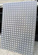 Alu - Quintettblech (Riffelblech - Tränenblech) ALMG 3.  2,5 / 4 mm.