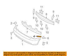 HYUNDAI OEM 07-11 Accent Rear Bumper-Upper Retainer Right 866191E100