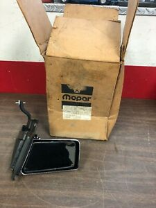 1979-82 CHRYSLER DODGE NEWPORT NEW YORKER LH MANUAL OUTSIDE MIRROR NOS MOPAR