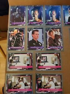 Vintage Lot of 72 Terminator 2: Judgement Day Trading Cards (1991)