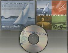 DIAMOND RIO You're Gone 1998 USA PROMO Radio DJ CD single MINT w/ PRINTED LYRICS