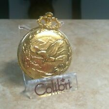 COLIBRI  GOLD eagle  POCKET WATCH date  new old stock price below wholesale
