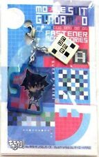 Gundam 00 Setsuna Fastener Accessory January Metal Charm Anime Manga Game MINT