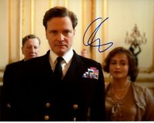 COLIN FIRTH signed autographed THE KING'S SPEECH KING GEORGE VI photo