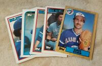 Cards - Lot of 1980s Baseball Cards - Toronto Blue Jays - 139 Cards