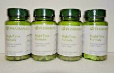 Four pack: Nu Skin Nuskin Pharmanex NightTime Night Time Formula 60 Capsules x4