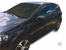 VW POLO 6R 2009-UP 3 porte insieme di anteriore VENTO DEFLETTORI 2pc HEKO colorata