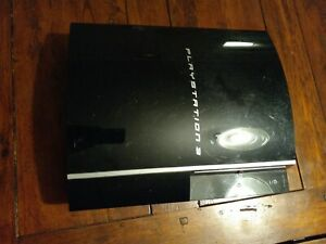 *parts only* Sony Playstation 3 Fat PS3 CECHK01 Console Only