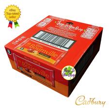 🍫 full box Cadbury Bournville Orange 18 X 100 G Dark Chocolate Bars Vegan Cadea...