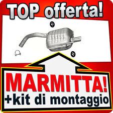 Silenziatore posteriore ALFA ROMEO 147 1.9 JTD 2000-2008 Marmitta 340