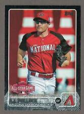 A.J. POLLOCK 2015 Topps Update BLACK Parallel Card ASG #US186 #54/64 All-Star AJ