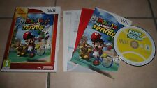 JEU WII - MARIO POWER TENNIS - PAL NINTENDO - complet en boîte BE