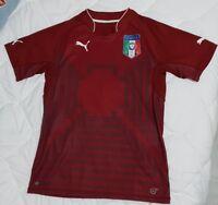 BUFFON Italia Italy BRASIL BRASILE BRAZIL 2014 maglia shirt camiseta jersey M