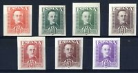Muy Raros sellos no emitidos España Franco 40 céntimos sin dentar completa