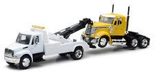 NEWRAY 1:43 LONG HAUL TRUCKER INTERNATIONAL 4200 TOW TRUCK & LONESTAR CAB 15073