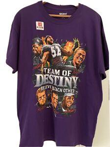 Baltimore Ravens Playoffs 2013 Caricature T-Shirt - Large