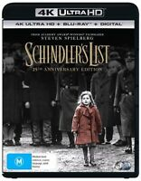 Schindler's List : NEW 4K UHD Blu-Ray