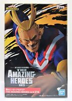 My Hero Academia The Amazing Heroes Vol.5 All Might 21 cm Banpresto Japan Figure