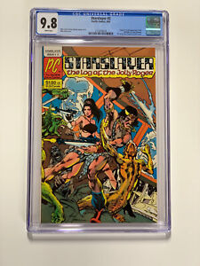 Starslayer 2 Cgc 9.8 White Pages 1st Rocketeer Pacific Comics