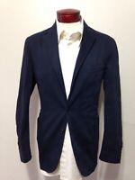Polo Ralph Lauren Men's Blazer Navy Blue Size 42R Two-Button Sport Coat I285