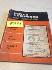 Manuales de reparación y servicios Tipo Renault