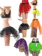 Ladies 3 Layers Burlesque Tutu Skirt Womens Hen Night Skirt Fancy Dress Costume