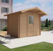 Casetta legno giardino LA PRATOLINA alta qualità spessore 33 mm di abete 2.5x2