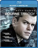 The Bourne Trilogy (Blu-ray / Digital HD) (Blu New Blu