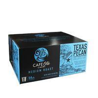 HEB cafe ole Texas pecan single serve coffee 54 count KCup FS