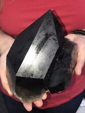 Super  * Smoky Crystal Quartz * 2.830 Kgs  = 6 Lbs Extra Quality * FREE SHIPPING