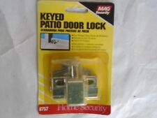Mag Security 8757 Keyed Patio Door Lock Outside Inside