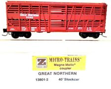 Z Mtl 13801-2 40' Gn Despatch Stock Car