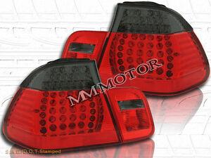 99 00 01 BMW E46 330 328 325 TAIL LIGHTS LED R/S 4DR