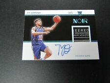 2019-20 Noir Ty Jerome RC Jersey Tag Auto RPA SSP 3/5