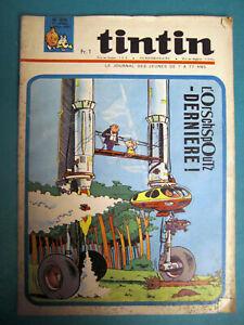 TINTIN Nos 876 DU 5 AOÛT 1965