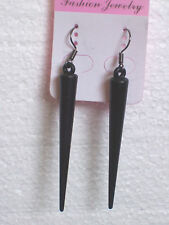 Sexy Black Spike pendientes