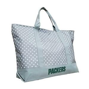 Green Bay Packers Dot Tote Bag