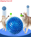3.5 Inches Rubber Spike Dog Balls Fetching Pet Play Toys