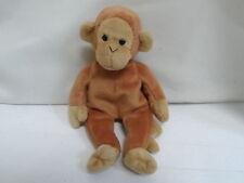 Ty Beanie Bongo the Monkey 1995 Tan Tail New Without Tag